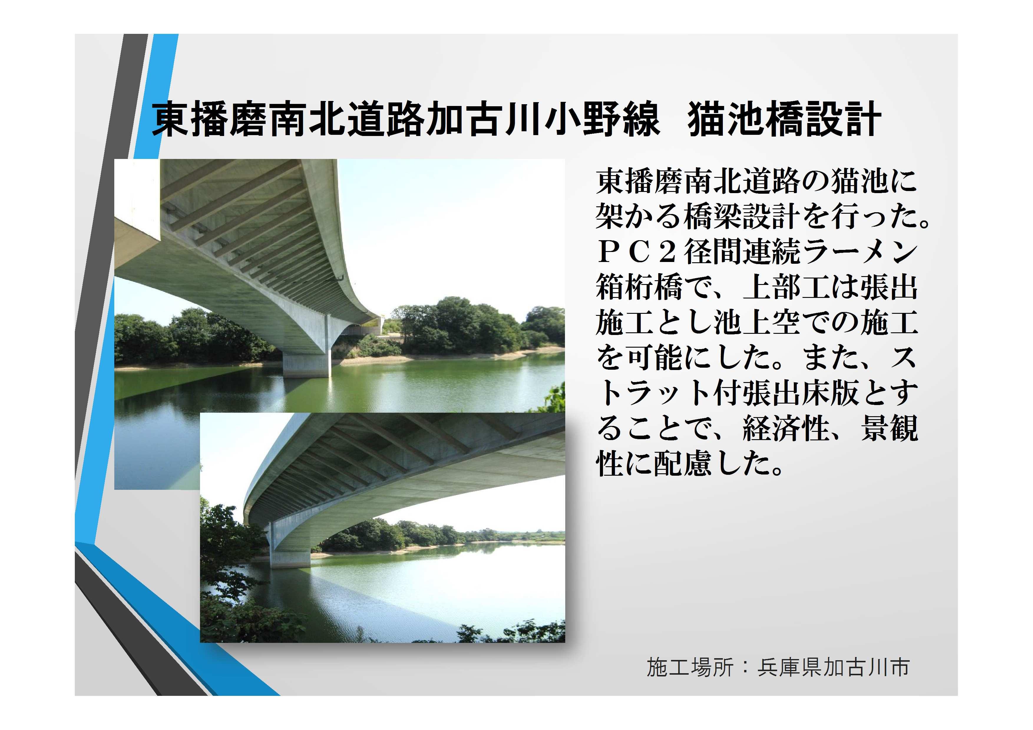 近17087 東播磨南北道路加古川小野線 猫池橋設計【確認済】田代部長