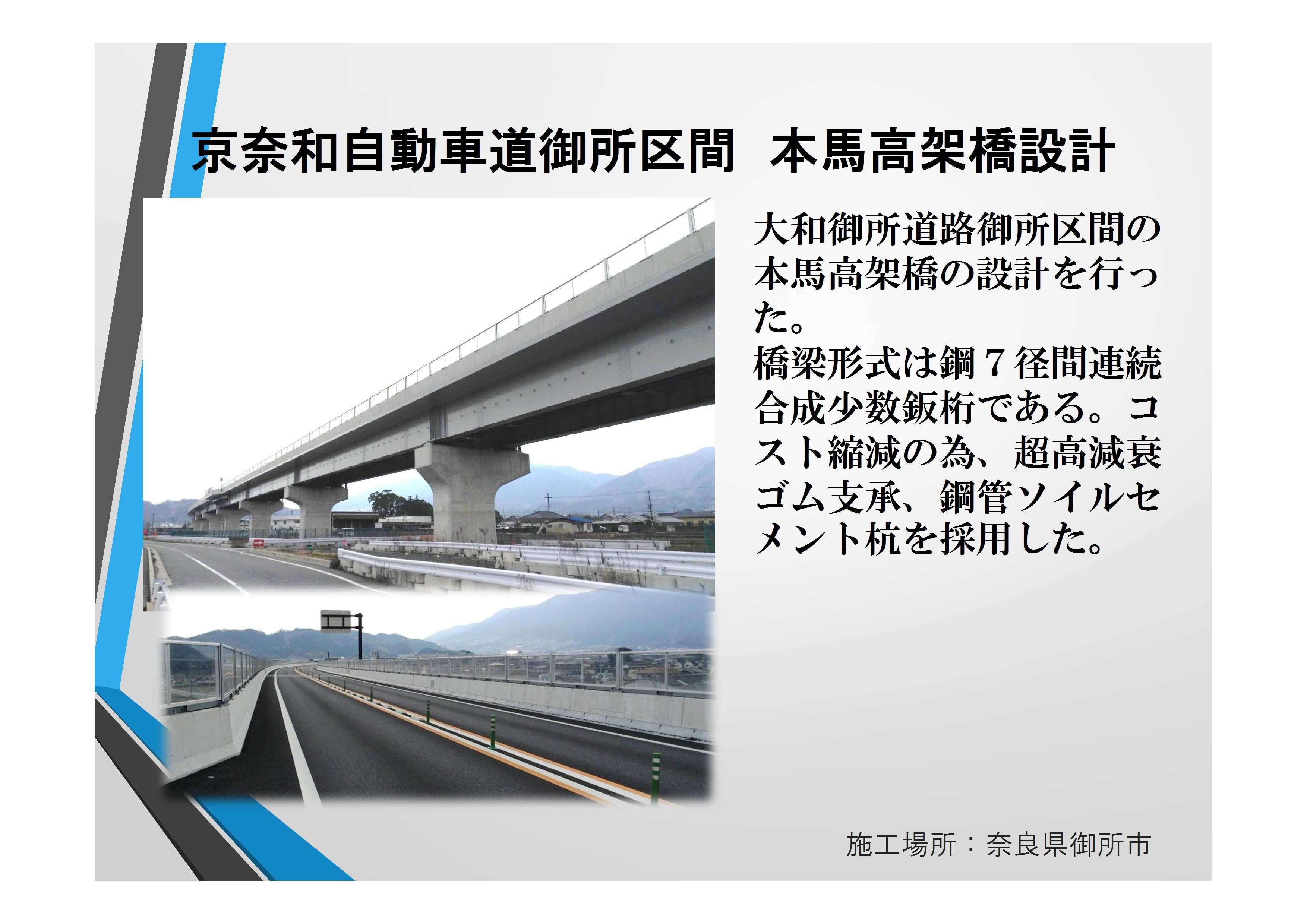 近20087 京奈和 本馬高架橋【確認済】田代部長